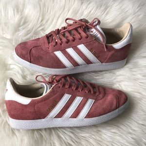 Adidas gazelle suede shoes size 9